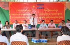 Xây trường học cho con em Việt kiều tại Campuchia